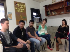 Reform Mechina Students in Jaffa