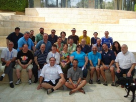 My Hartman class at the Institute in July 2012