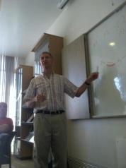 Rabbi Donniel Hartman teaching our Rabbinic Leadership Initiative class